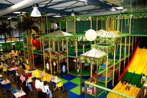 Voici l'espace de jeu dédié aux enfants