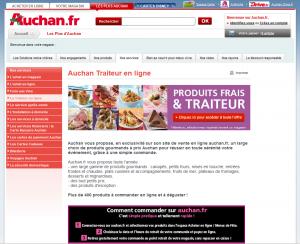 Produits frais et traiteur en ligne Auchan.fr