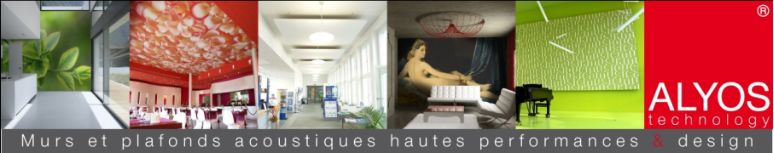 Plafond acoustique Alyos