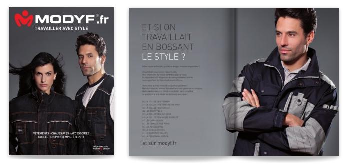 Catalogue Modyf Printemps Eté 2011 Vêtement de Travail