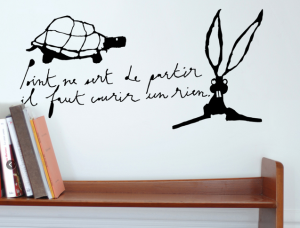 design mural stickers muraux le pr d 39 eau le web communique. Black Bedroom Furniture Sets. Home Design Ideas
