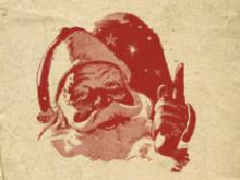 Une lettre manuscrite du Père Noël