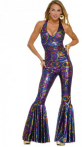 Tenue disco années 80   Déguisement-magic