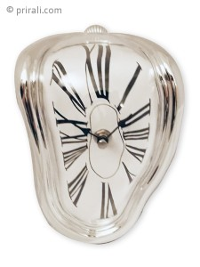 horloge coulante