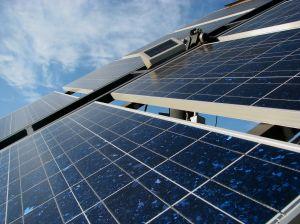 Exemple de panneaux solaires